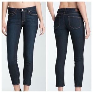 Paige Kylie High Rise Cropped Leg Denim Jeans